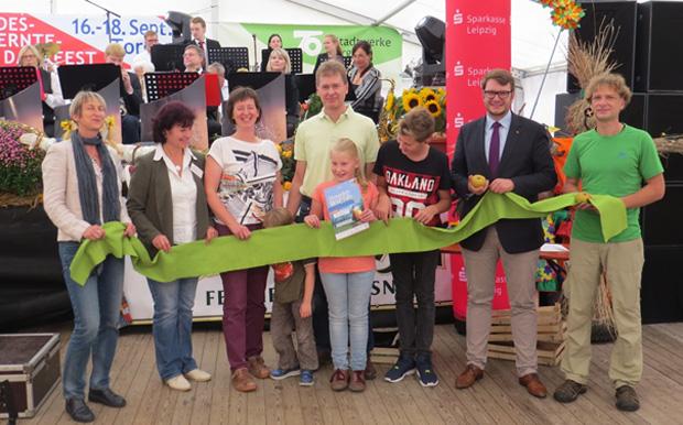 Landesenntedankfest Prämierung 5. Streuobstwiesenwettbwerb Nordsachsen