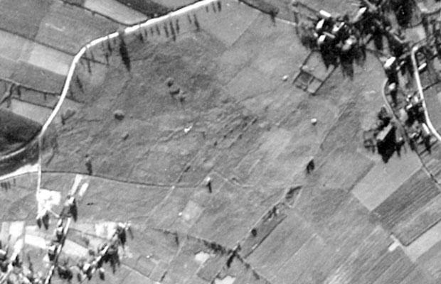 Luftbild der Fläche (1953)