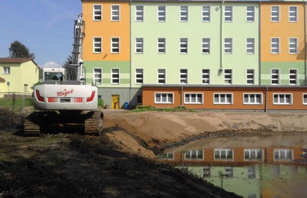 Sanierung des Gewässerrandes